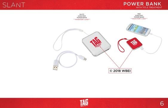 Tag Power Bank