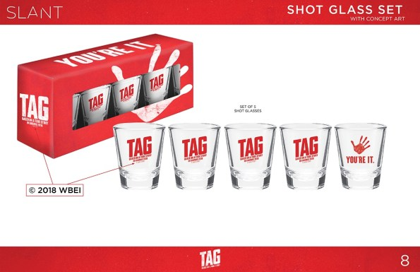 Set of 5 Shot Glasses