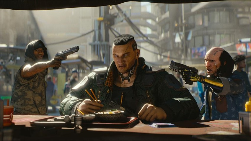 Going first-person created a new layer of storytelling for Cyberpunk 2077 4