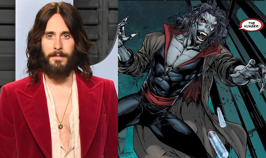 Jared Leto to play Morbius the Living Vampire in Sony's Spider-Man spinoff 3