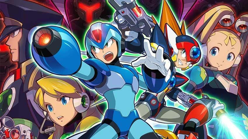 Mega-Man-X-collection