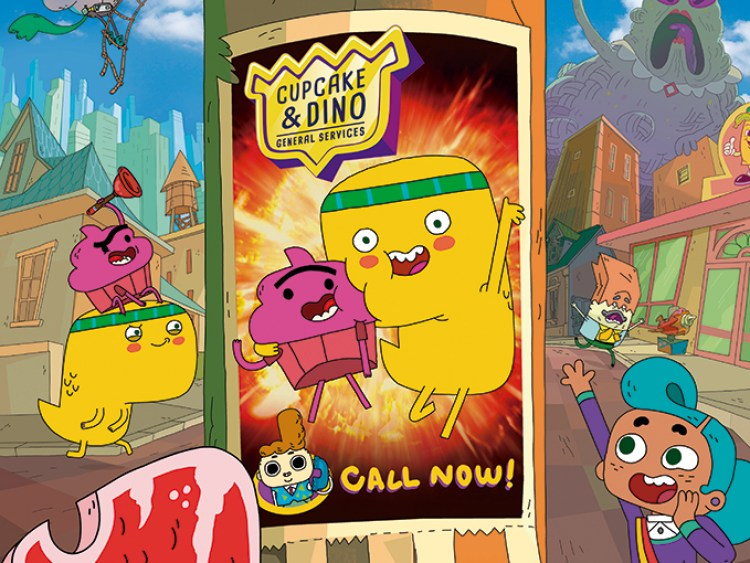 Get ready for some wild adventures in Netflix's animated series Cupcake & Dino: General Services 2