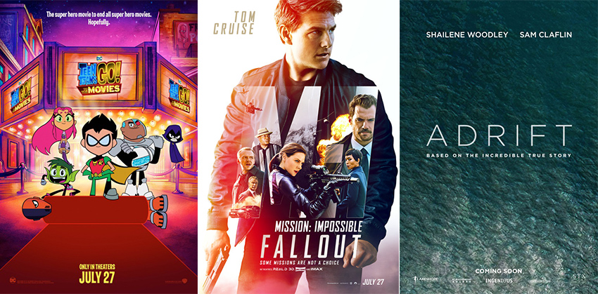 Movies out Today: 27 July 2018 2