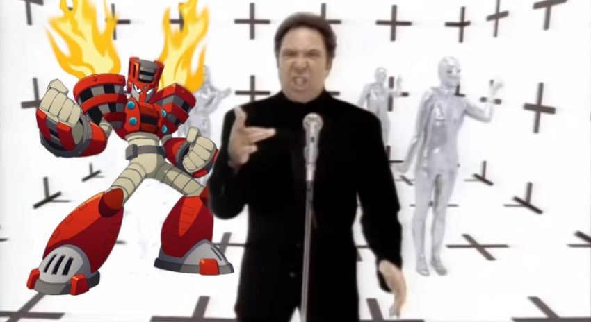 Torch Man is ready to burn down the house in Mega Man 11 2
