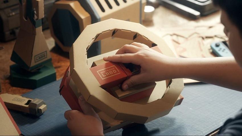 Nintendo Labo Vehicle kit coming in September