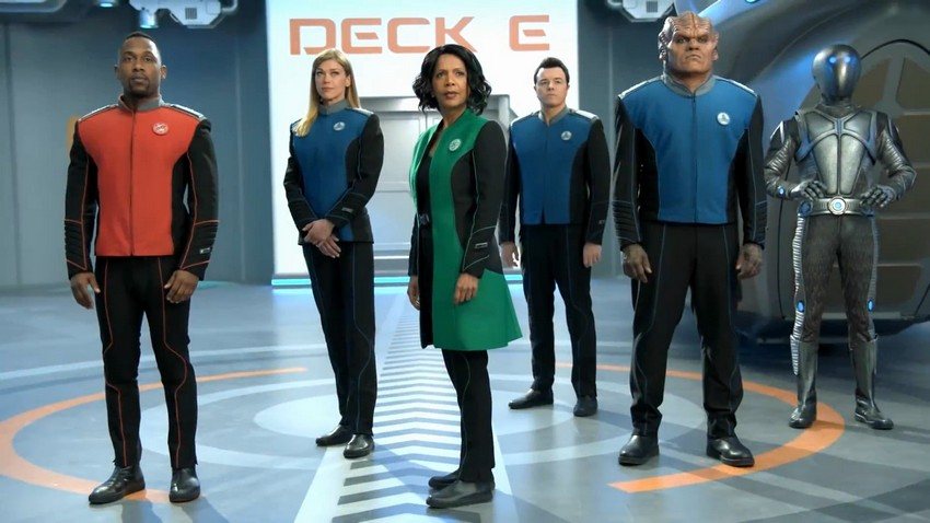 SDCC: The Orville establishes first contact in season 2 trailer 3
