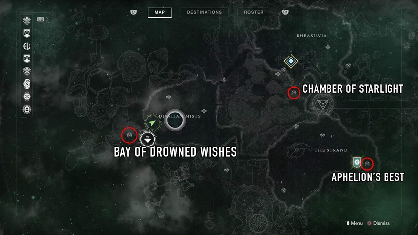 Dreaming-City-map