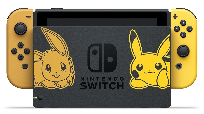 Nintendo reveals Let's Go Pikachu and Eevee Switch