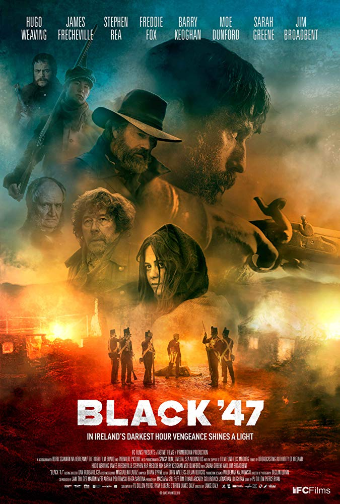 Revenge is all that's left in the dark and brooding historical thriller Black '47 4