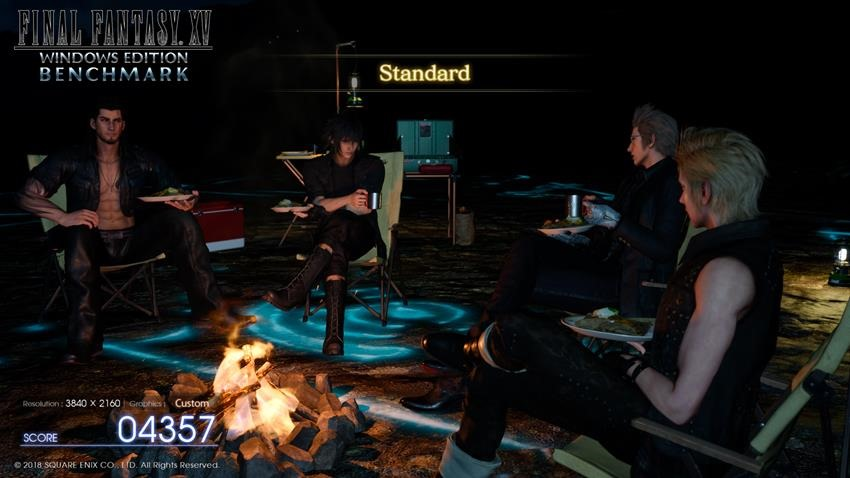 Final Fantasy DLSS Benchmark 14