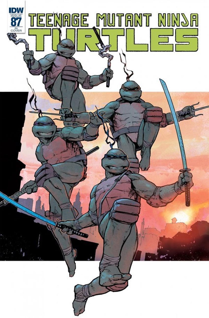 Teenage Mutant Ninja Turtles #87