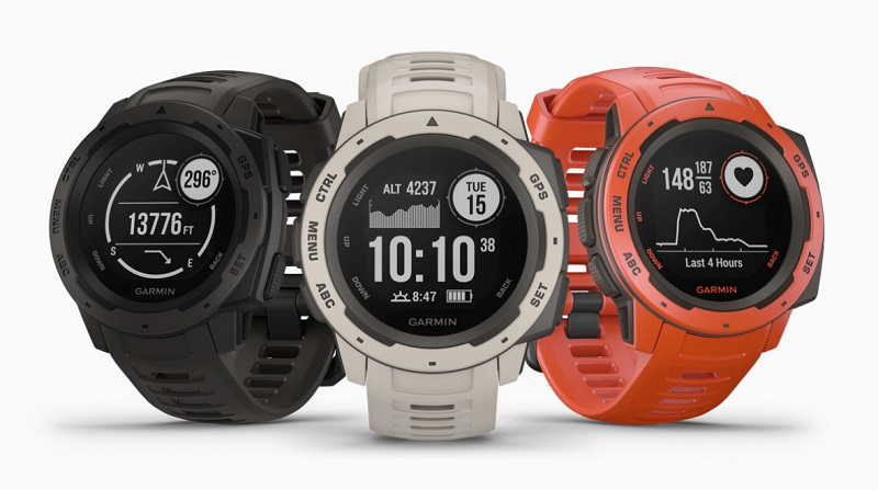 Garmin introduces the Instinct - a Fitness watch designed for more rugged outdoor activities 3