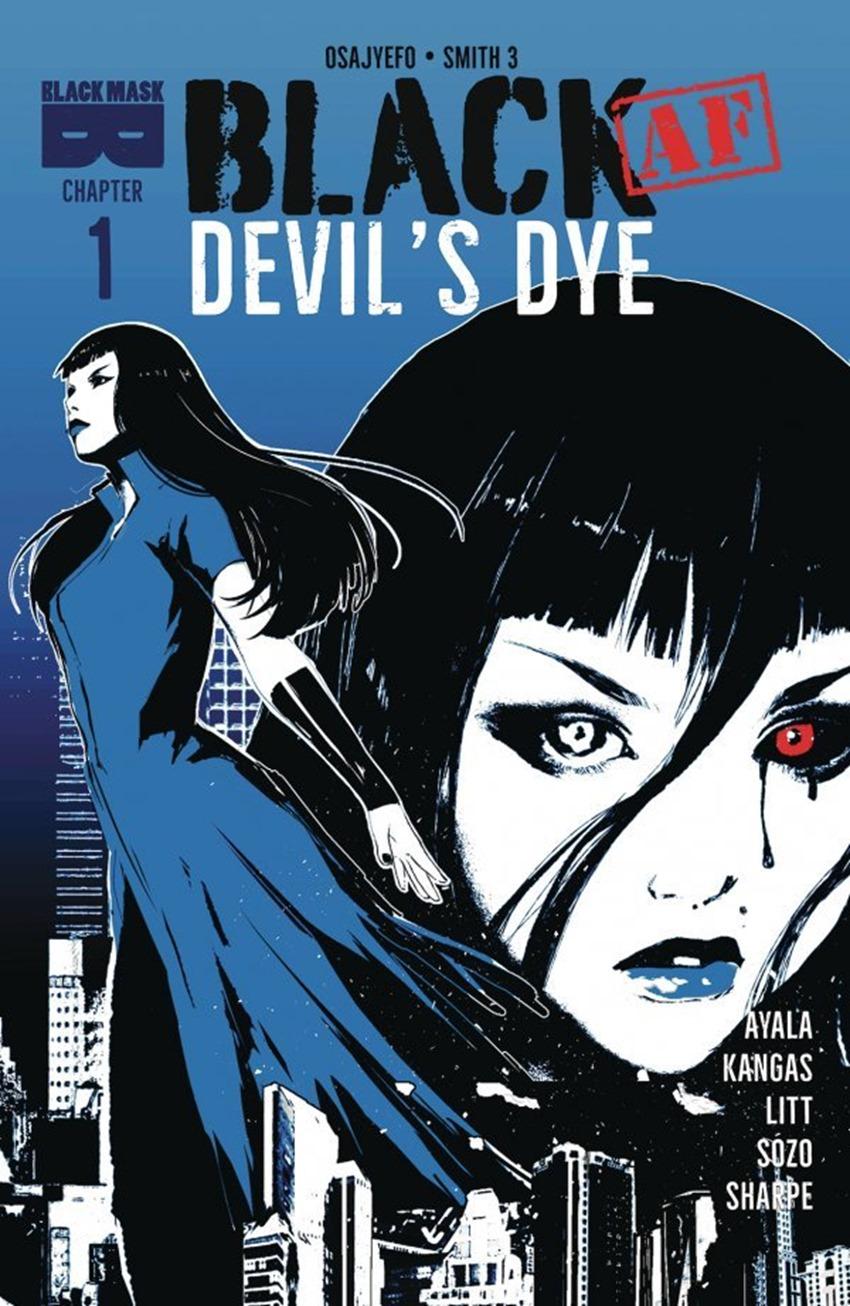 Black Af Devil's Dye #1