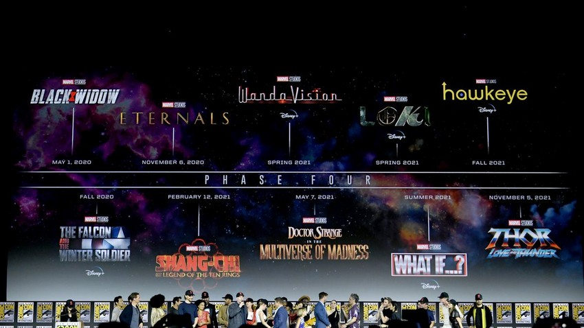 """Even more Marvel movies could be announced next month – including a """"very different"""" Avengers"""