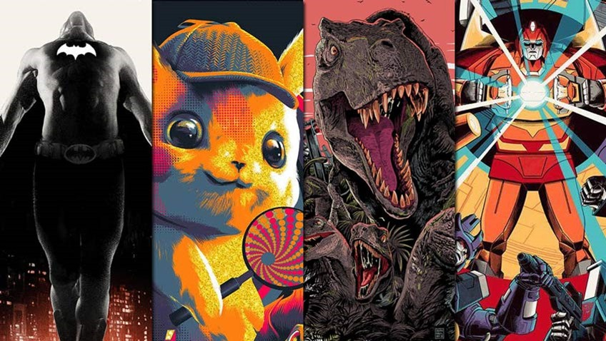 SDCC 2019 Mondos new exclusive ComicCon posters are cinematic works of art