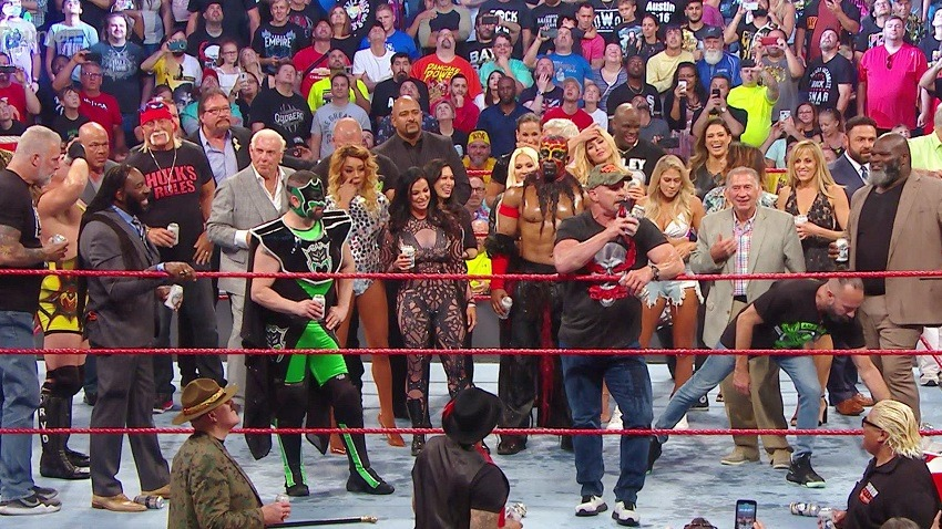 WWE RAW Results 22 July 2019 A reunion for the ages
