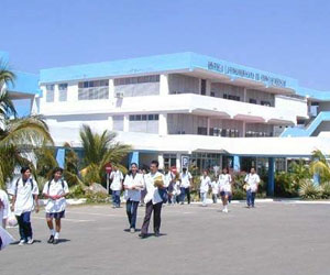 Escuela Latinoamericana de Medicina, ELAM. Foto de Archivo