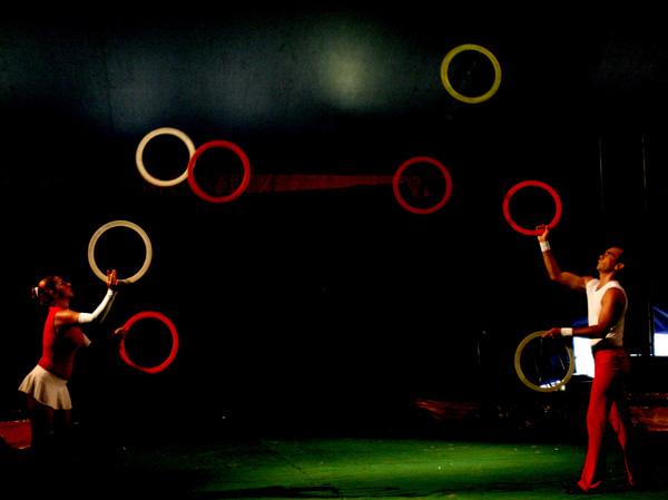 El Circo. Foto: Ismael Francisco