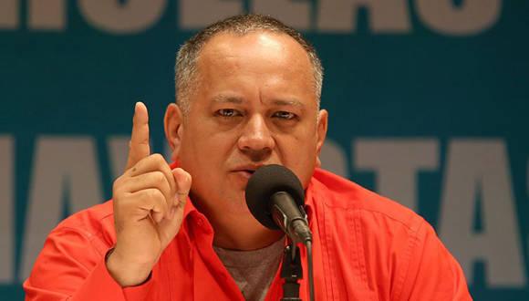 Diosdado Cabello, denunció el robo de material biológico mortal para los seres humanos en un ataque terrorista al Instituto Nacional de Sanidad Agrícola Integral. Foto: Archivo.