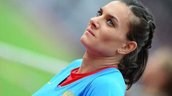 La pertiguista rusa dice que no perdonará no haber podido participar en los JJOO de Rio-2016. Foto: Franck Fife/ AFP.