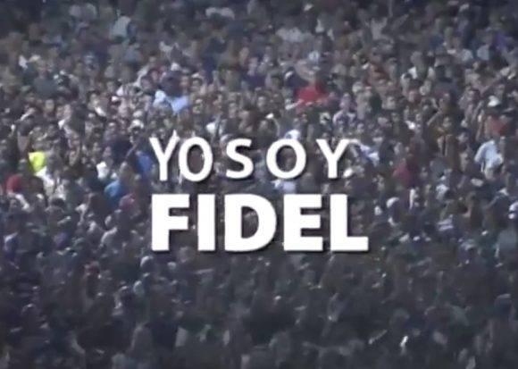 Yo soy Fidel, coreó el pueblo habanero en la Plaza.