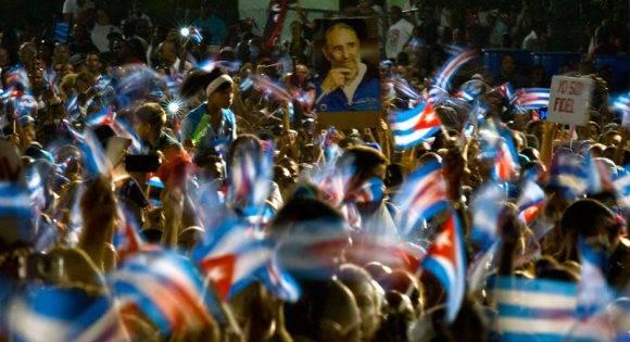 En la Plaza Antonio Maceo. Foto: Ramón Espinosa/ AP