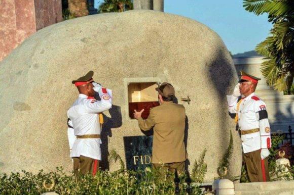 Ceremonia funebre de Fidel Castro