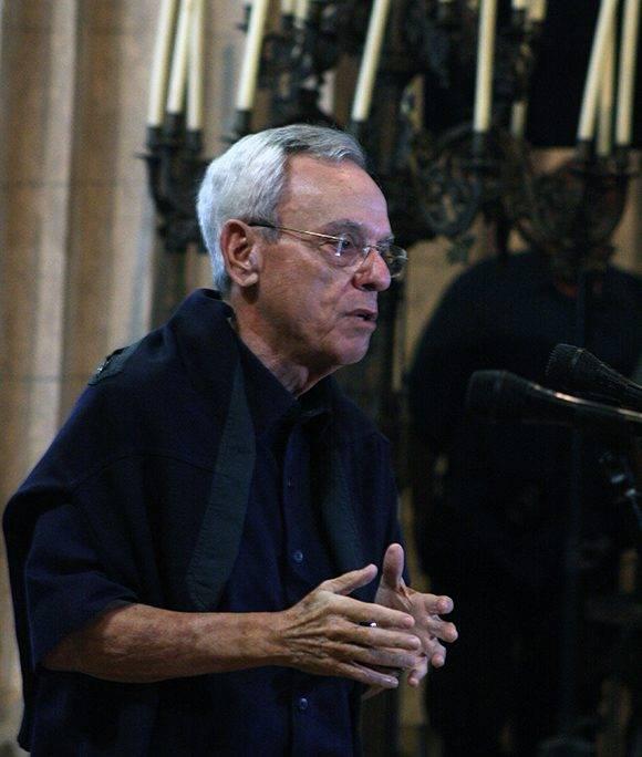 Eusebio Leal durante sus palabras en la presentación del primer proyecto entre Google y la Oficina del Historiador de La Habana. Foto: José raúl Concepción/ Cubadebate.