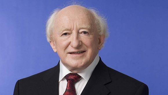 Michael D. Higgins. Foto: Gallery NUI Galway.