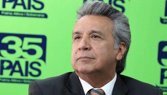 Lenín Moreno quedó muy cerca de ser presidente de Ecuador en la primera vuelta de las elecciones. Foto: Archivo.