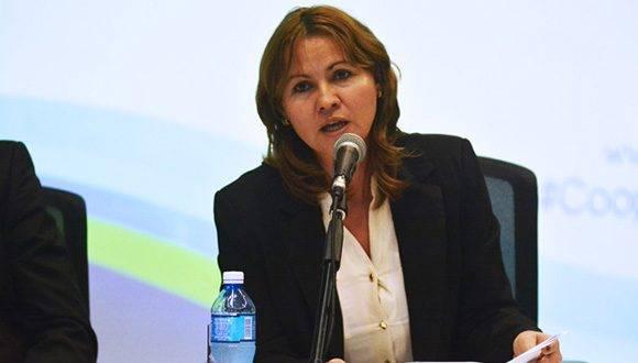 Marvelis Rodríguez especialista de defensa civil. Foto: Roberto Garaycoa.