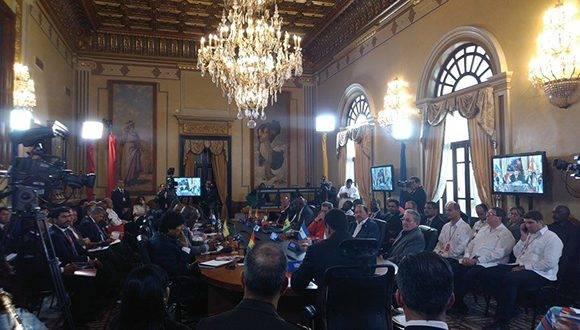 XIV Cumbre ALBA- TPC. Foto: @DPresidencia/ Twitter.