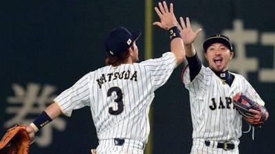 El equipo de Japón gana 11 a 6 a la selección de Cuba, en su primer juego del Grupo B del IV Clásico Mundial de Béisbol. en el estadio Tokio Dome, de la capital de Japón, el 7 de marzo de 2017. ACN FOTO/Ricardo LÓPEZ HEVIA/Periódico Granma/sdl