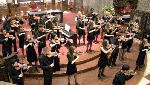 The Chicago Consort, considerada uno de los principales ensambles estudiantiles de Estados Unidos. Foto: ACFEA
