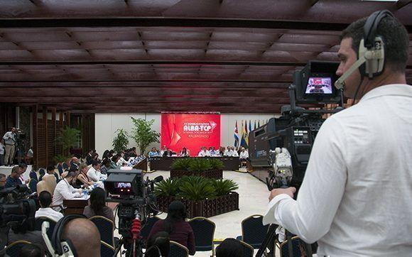 Los cancilleres de los países miembros del ALBA se reúnen en La Habana. Foto: Ladyrene Pérez/ Cubadebate.