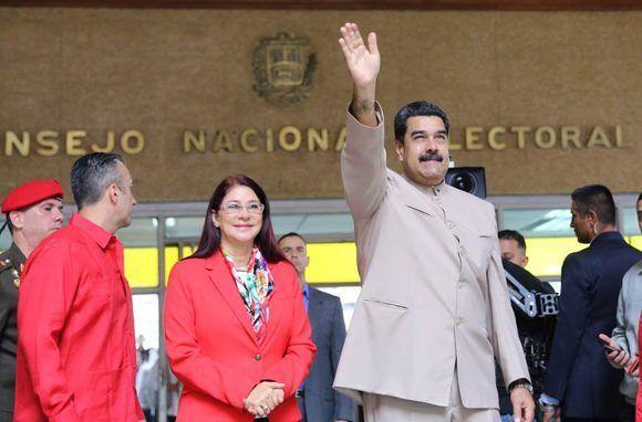 Maduro convocó a una Asamblea Constituyente, pero la oposición continúa sus violentos. Foto: @PresidencialVen/ Twitter.