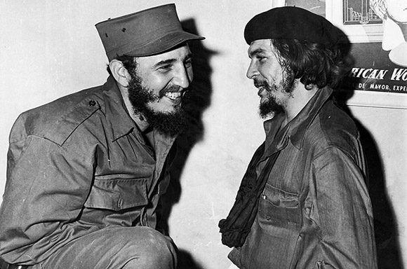 Resultado de imagen para Fidel Castro junto a Antonio Maceo, el Che
