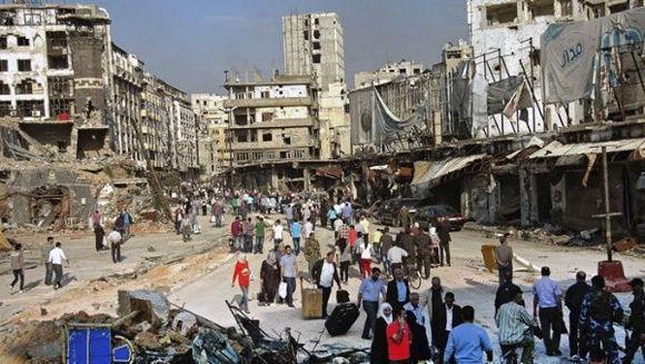 Los ataques del Daesh en Siria obligan a miles de personas a huir de sus hogares. Foto: EFE.
