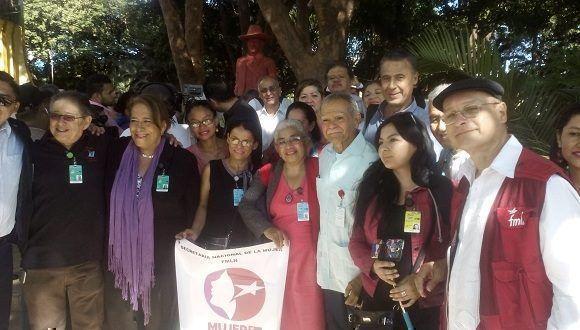 XXIII Encuentro del Foro de Sao Paulo que se celebra en Managua, Nicaragua. Foto: Cortesía del autor.