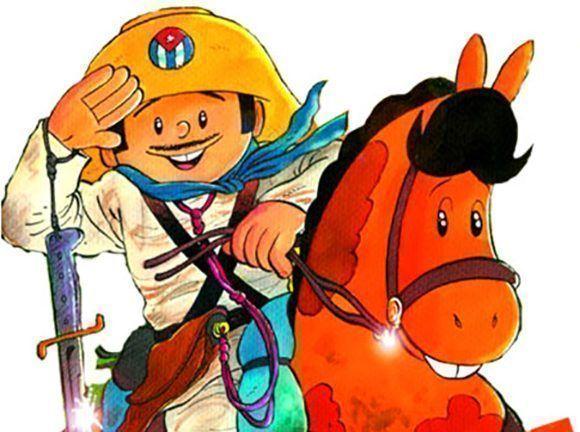 Elpidio Valdés estará entre los personajes de dibujos animados creados en nuestro país formarán parte de productos utilitarios infantiles que pronto se comercializarán en el mercado nacional.