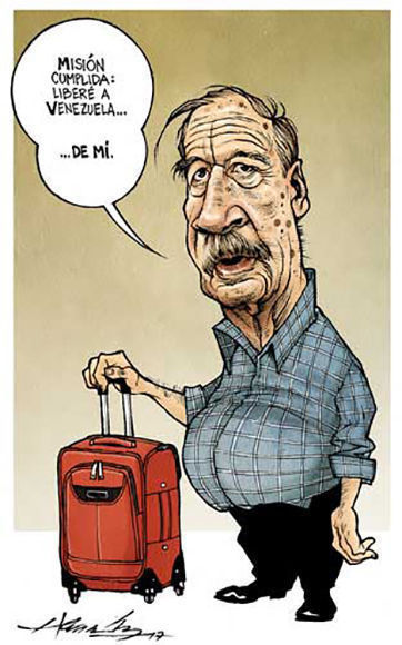 Caricatura: La Jornada.