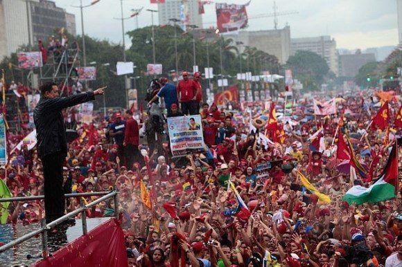 Campaña electoral en 2012. Foto: Archivo.