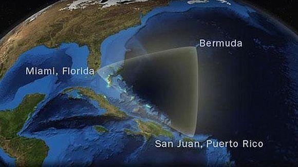 Las naves se perdían en esa zona de 700 kilómetros cuadrados que se encuentra en el océano Atlántico Norte, entre Bermudas, Miami y San Juan, Puerto Rico. Foto: La Tribuna.