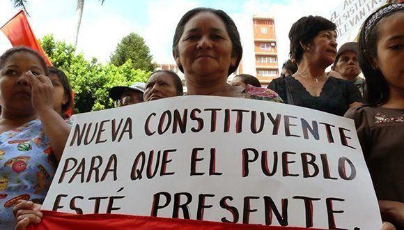El pueblo venezolano demostró que quiere la paz mediante la Constituyente. Foto: Correo del Orinoco.