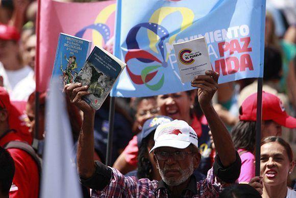 La Asamblea Nacional Constituyente ratificará los logros de la Revolución Bolivariana. Foto: @NicolasMaduro/ Twitter.
