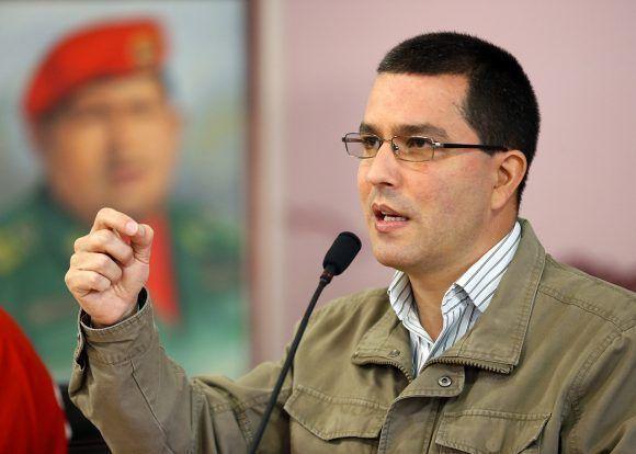 Jorge Arreaza. Foto tomada de La Radio del Sur.