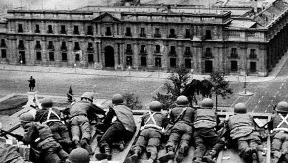 Resultado de imagen para Chile recuerda el golpe de estado 44 años después