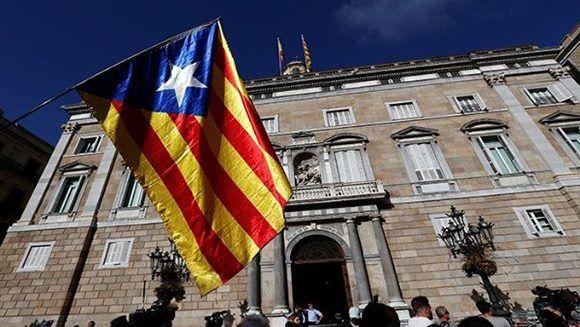 El viernes, el Parlamento catalán oficializó la declaración de la independencia de la región. Foto: Reuters.