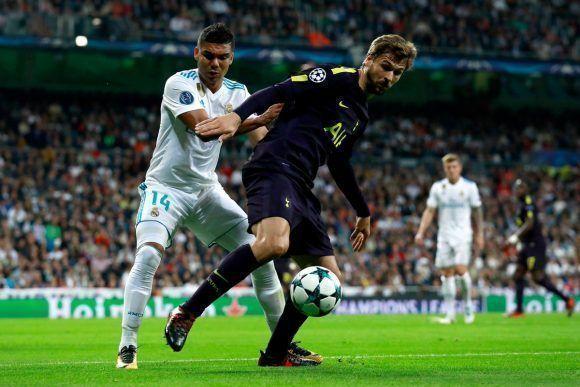 Llorente jugó cerca de Kane en el ataque. Foto: @SpursOfficial.