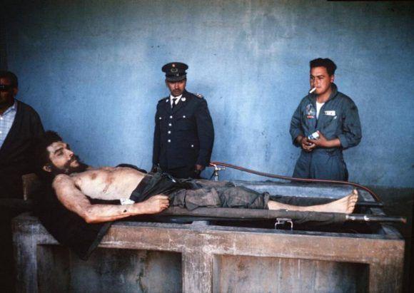 Muerte Che Guevara 1967. Foto: Marc Hutten / AFP